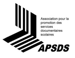 Association pour la promotion des services documentaires scolaires